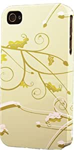 Caterpillar On Vine Pattern Dimensional Case Fits Case For Sam Sung Galaxy S5 Cover