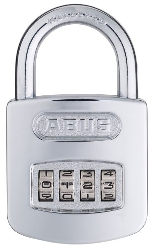 ABUS 160/50 All Weather Chrome Combination ()