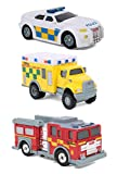 Tonka 08303 'UK Diecast Toy (Pack of 3)