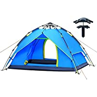 AUGYMER Camping Tent, Pop Up 2-3 Person Tent for Camping...