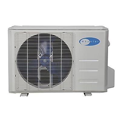 Whynter Mini Split Inverter Ductless Air Conditioner System & Heat Pump Full Set Seer 17 12000 Btu 115V