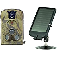 Ltl Acorn 5210A Wildlife Camera with 940nm Covert Infrared 12MP 1080P HD Video Recording with with Audio + Solar Panel Charger