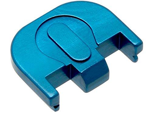 for Glock Gen 5 Rear Slide Cover Plate 9mm 17 19 19x 26 34 Blue Lacrosse Sticks Crossed by NDZ Performance (Image #1)