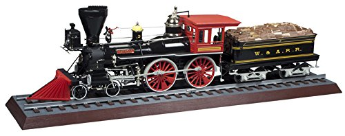 プラッツ 1/25 ジェネラル号 アメリカ型4-4-0薪蒸気機関車 プラモデル MPC818