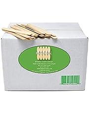 "Perfect Stix 4.5"" Craft Sticks/Ice Cream Sticks/Natural Wood - Box of 1,000ct"