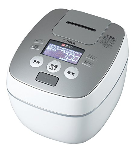 Tiger IH Pressure Rice Cooker Cooked 5.5 Go Cook Raster Black JPB-G100-WL Review
