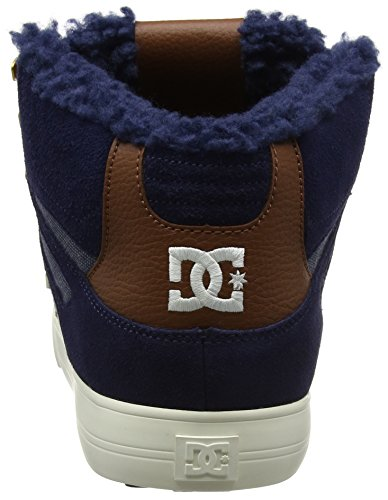 DC Shoes Spartan High WC WNT, Scarpe da Ginnastica Basse Uomo Blu (Navy)