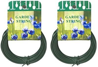 Kingfisher Gardening GREEN Multi Purpose Coated Garden Wire Rust Proof 30m