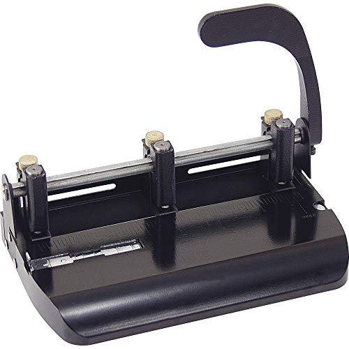 OIC90078 - Officemate OIC Heavy-Duty Adjustable Three-Hole Punch ()