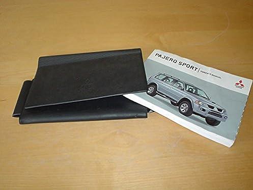 mitsubishi pajero sport owners manual handbook shogun 2500 3000 rh amazon co uk Corvette Owners Manual mitsubishi shogun sport owners manual