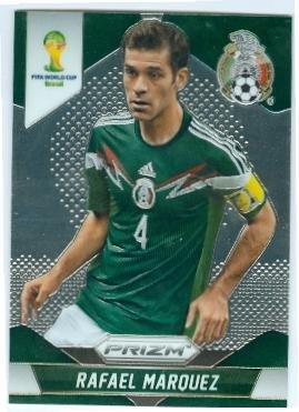 buy popular ddb96 ddcb9 Rafael Marquez trading card (Mexico Barcelona Monaco Leon ...