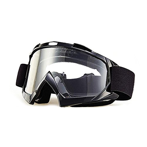 Motorcycle Goggles,Ski Snowboard with UV Protection Anti-fog Dual-lens Helmet Compatible for Tactical Shooting Motorcycling Cycling Skiing Snowboarding Winter Sports