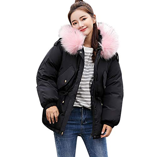 Lammy Jackets Women Tops Thicker Warm WNGO Pocket Slim Breathable Black Thickening Outdoors Size Blouse Hoodie Overcoat Paragraph Women Large Windproof Sweatshirt Tactical Parka Coat Pattern Outwear q0ddxY