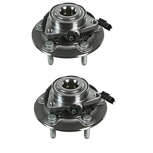 Detroit Axle - New Set (2) Front Driver and Passenger Wheel Hub and Bearing Assembly for 2012-2016 Dodge Ram 1500 -