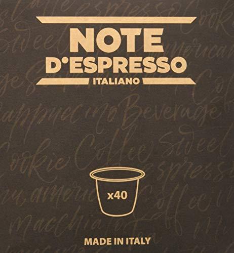 Note D Espresso - Capsulas de tisana de frutas del bosque exclusivamente compatibles con cafeteras Nespresso , 3g (caja de 40 unidades)