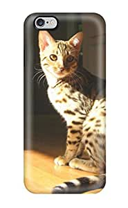 New Snap-on ZippyDoritEduard Skin Case Cover Compatible With Iphone 6 Plus- Domestic Cat With Spots