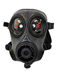 Gas Mask, Avon FM12, Twin Port, Size Large…