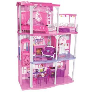 Barbie Pink 3-story Dream Townhouse from Mattel