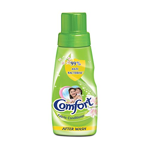 Comfort Fabric Conditioner, After Wash - Green Bottle - 200 ml, India