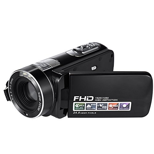 seree-hdv-m06-fhd-1080p-video-camcorder-24mp-18x-digital-zoom-self-timer-beauty-face-camera-hdmi-out
