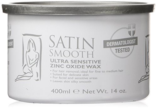 Satin Smooth Zinc Oxide Pot Wax, 14 Ounce