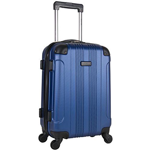 Kenneth Cole Reaction Out Of Bounds 20-Inch Carry-On Lightweight Durable Hardshell 4-Wheel Spinner Cabin Size Luggage (Antler Liquis Luggage Best Price)