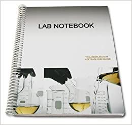 Lab Notebook 100 Carbonless Pages Spiral Bound (Copy Page ...
