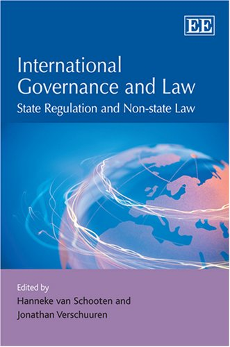 International Governance And Law: State Regulations and Non-state Law