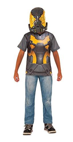 Ant-Man Yellow Jacket Costume Shirt and Mask, Child's Small -
