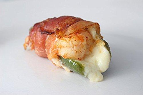 Western Grillers Bacon Wrapped Shrimp Brochette, Frozen (48 Piece)