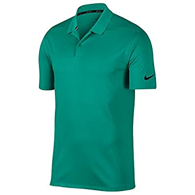 NIKE Dri Fit Victory Solid Golf Polo Neptune Green/Flat Silver X-Large