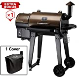 Z GRILLS Wood Pellet Grill & Smoker with Digital Temperature Controls, 8-in-1 Grill, Smoke, Bake, Roast, Sear, Braise, BBQ and Char-Grill