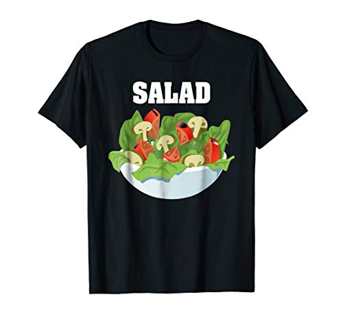 Salad Couples Halloween Costume T-shirt Salad & Dressing -