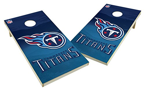 PROLINE NFL Tennessee Titans 2'x4' Cornhole Board Set - Wild Design by PROLINE