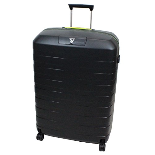 roncato-box-suitcase-5511-black-yellow