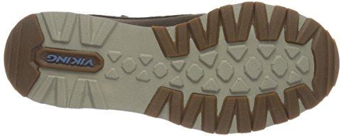 Viking Damen Moria Gtx Chelsea Boots Braun (marrone / Blu Medio 847)