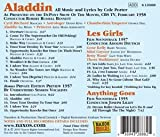 Porter: Aladdin (Aladdin/ Les Girls 1957 Film Soundtrack/ Anything Goes)
