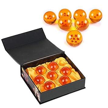 Mardozon Bolas del Dragón Dragonball [7PCS], Dragon Ball Z Bolas de Dragón 1 a 7 Estrellas con Caja de Regalo