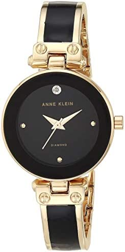Anne Klein Women's Genuine Diamond Dial Bangle Watch WeeklyReviewer