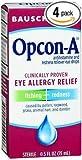 Bausch + Lomb Opcon-A Eye Drops Allergy Relief