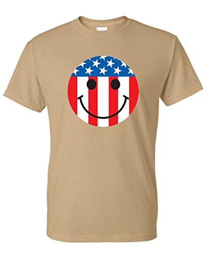 Smiley Emoticon Patriotic Amendment T Shirt product image