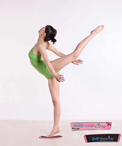 24hDancing - Ballet Dance Turn Board, Studio Equipment, Practice and Improve Steps, Spin, Form, Pirouette, Releve and Balance,