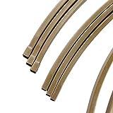 Efavormart 7.5 Ft Round Gold Metal Wedding Arch