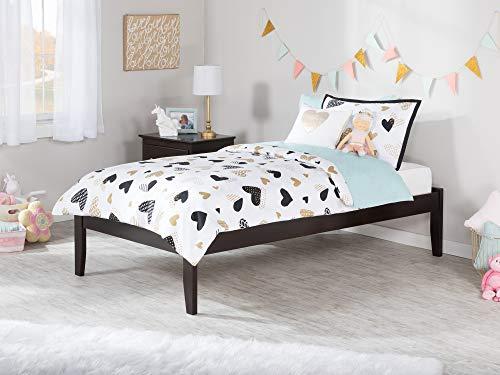 Atlantic Furniture AR8011001 Concord Platform Bed, Twin XL,