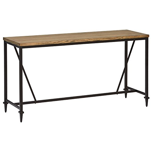Stone & Beam Ariana Rustic Metal Counter Height Table, 68