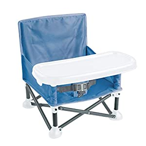 Summer Pop 'n Sit Portable Booster Chair, Dusty Blue