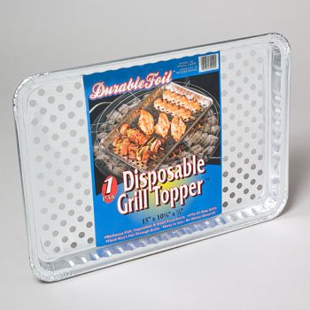 DollarItemDirect Aluminum Grill Topper 15 x 10.25 X.75 Inch 120 pcs in Floor, Case of 120 by DollarItemDirect