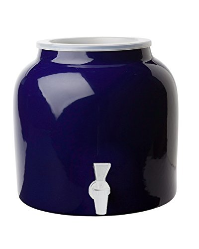 (New Wave Enviro Porcelain Water Dispenser, Cobalt)