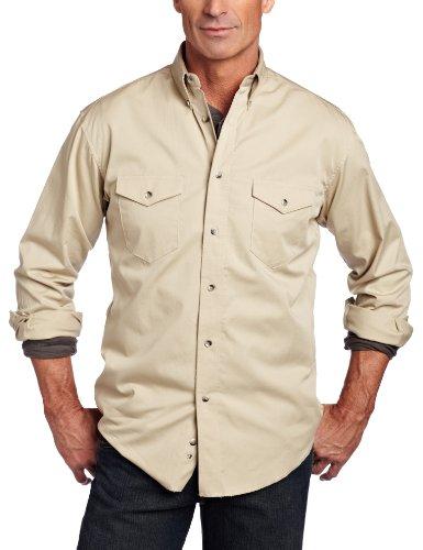 (Wrangler Men's Painted Desert Basic Shirt, Tan, X-Large)