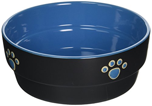 China Dishes Value - Ethical Pet Products (Spot) DSO6897 Fresco Stoneware Dog Dish, 7-Inch, Blue